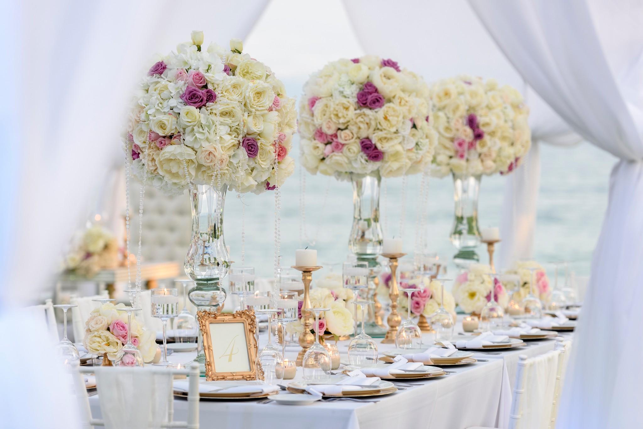 flowers centerpieces decorations mexico wedding