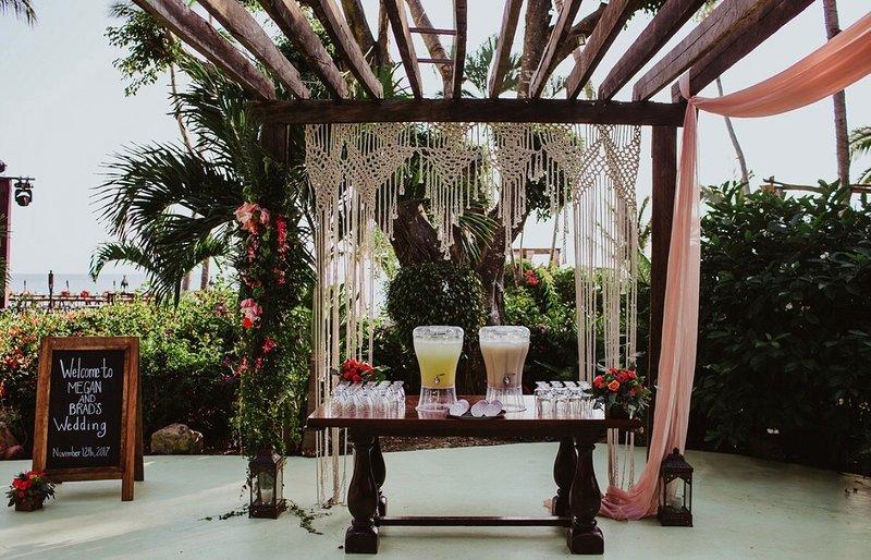 Welcome pergola sayulita-nayarit-mexico wedding area venue